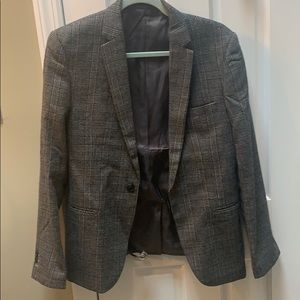 Other - Plaid Gray Sport Jacket 1 button